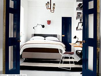 Nate Berkus's redecorated bedroom