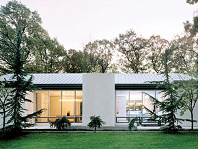 James and Tina's dream resulted in this modern minimalist house.