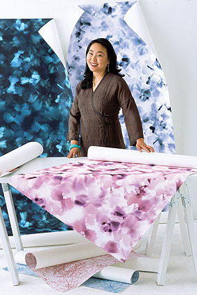Wallpaper designer Jee Levin