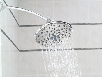 Switch to a low-flow showerhead.