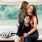 Kristin Glassman and her daughters