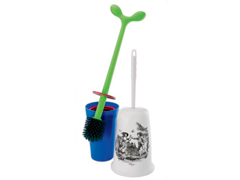 Liette and Alessi toilet brushes