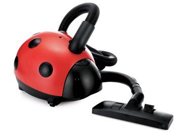 Ladybug vacuum