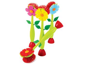 Flower Power scrubber