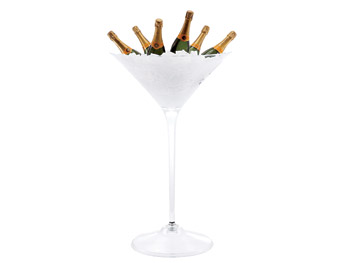 Martini Glass champagne chiller