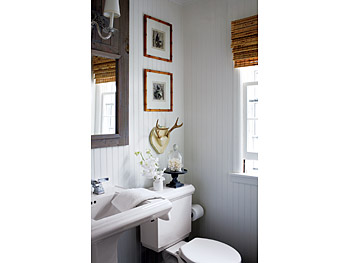 Using beadboard in the bathroom