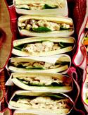 Sherried Chicken Salad Sandwiches