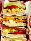 Shrimp and Deviled-Egg Salad Sandwiches