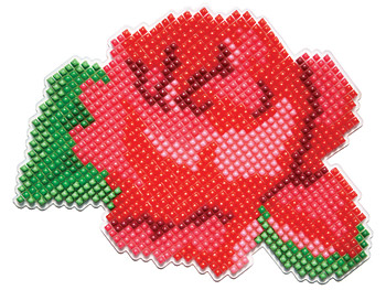 Rose-shaped trivet