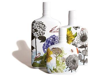 Rosanna's porcelain print vases