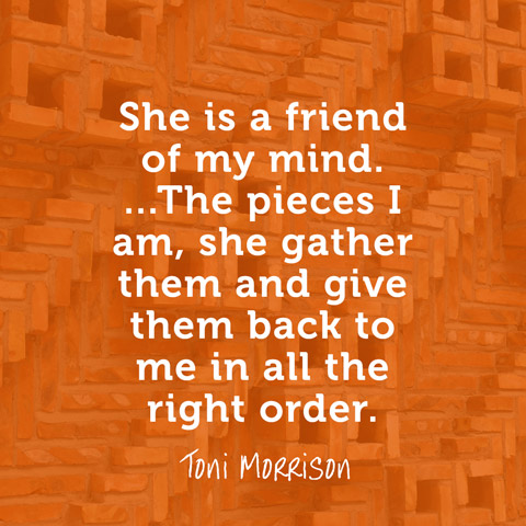 sisterhood in the novel sula by toni morrison Read the book club discussion of toni morrison's novel, 'sula'  oprah: or even  just in the culture where it's 'sister so and so' toni:.