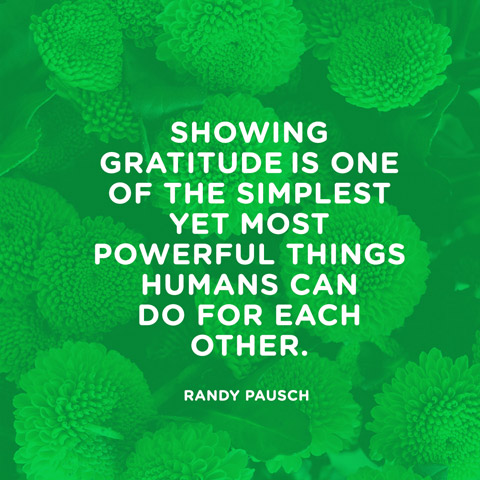 showing gratitude is one of the simplest yet most by randy