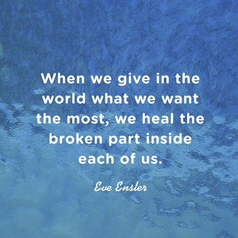 quote about healing eve ensler