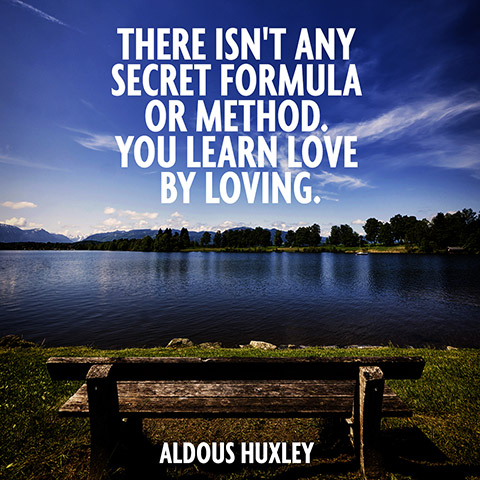 Aldous Huxley on love