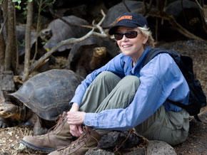 Jane Fonda in the Galapagos Islands