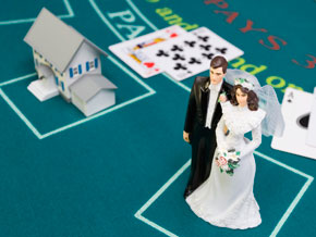 Is alimony a game of chance?