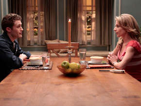 Terri and Will Schuester on Glee