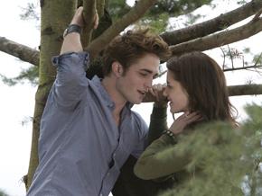 Scene from the film adaptation of Twilight