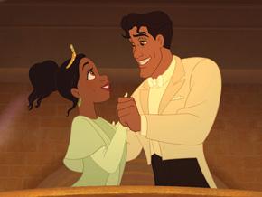 Princess Tianna and Prince Naveen