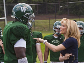 Sandra Bullock in a scene from The Blind Side