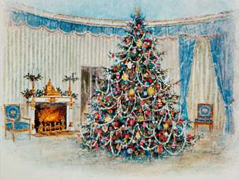 President Lyndon B. Johnson's Christmas card