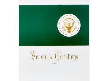 President John F. Kennedy's Christmas card