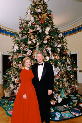 President Bill Clinton's Christmas Tree