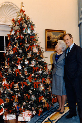 President George H.W. Bush's Christmas Tree