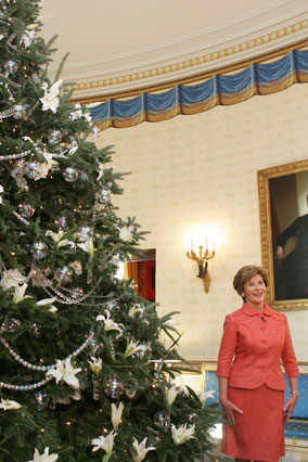 President George W. Bush's Christmas Tree
