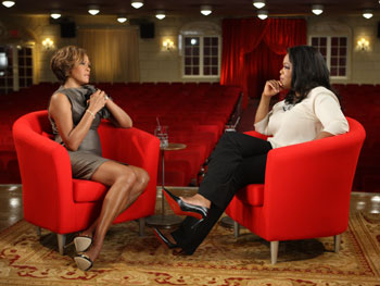 Oprah interviews Whitney Houston.