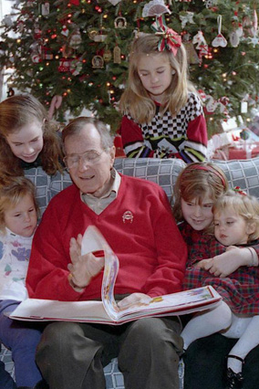 President Bush at Camp David