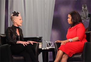 Pink and Oprah
