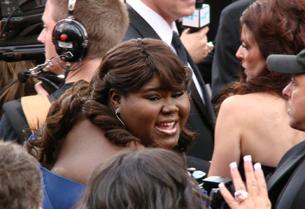 Best Actress nominee Gabourey Sidibe