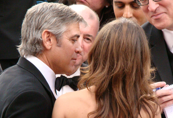 Best Actor nominee George Clooney