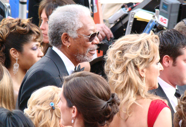 Best Actor nominee Morgan Freeman