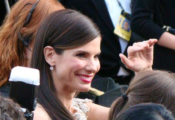 Best Actress winner Sandra Bullock
