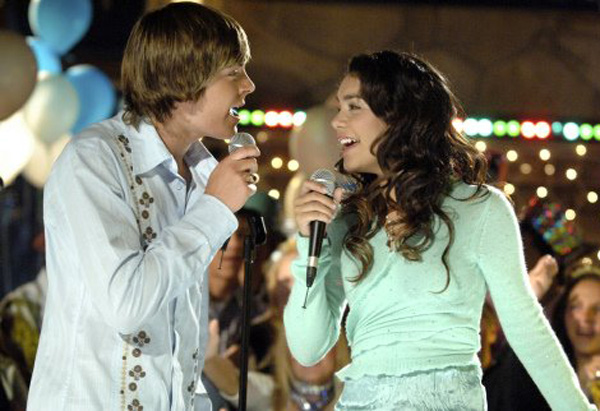 Scene from High School Musical