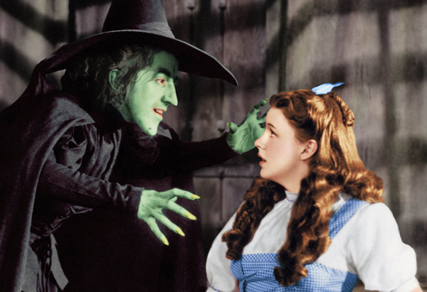 Scene from The Wizard of Oz