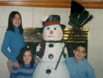 Children celebrating the holidays