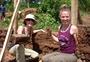 Seane Corn building a birthing center in Uganda
