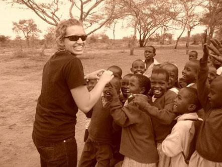 Sarah J. in Kenya