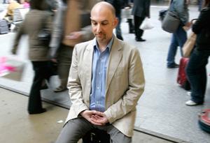 Martin Boroson meditating