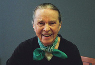 Marie Ponsot Photo Courtesy of Michael Lionstar
