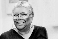 Lucille Clifton Photo Courtesy of Michael S. Glaser