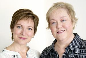 Cindy Ratzlaff and Kathy Kinney