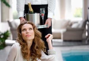 Rich woman unhappy