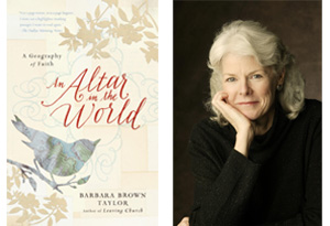 Barbara Brown Taylor and An Altar in the World book cover