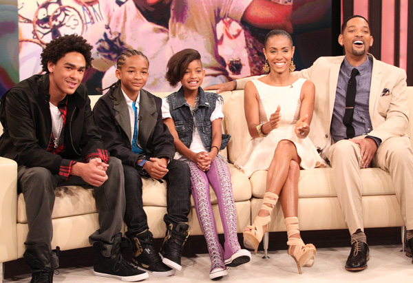 will smith and family 2010. Thought for Today - Fatherhood