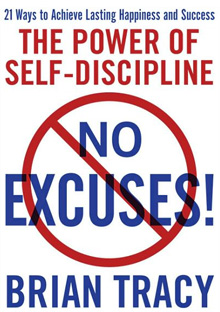 'No Excuses' book cover