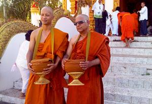 Deepak Chopra and Jate Sopitpongstorn